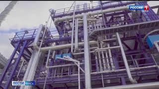 Омский нефтезавод готовит к пуску новый комплекс глубокой переработки нефти