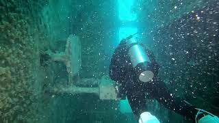 Diving the Ex-HMAS Tobruk - Our first look inside.