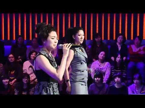 보이스코리아 시즌1 - [보이스코리아_소녀시대]Jang En-a vs Lee une kyung @Voice Korea_ep.8