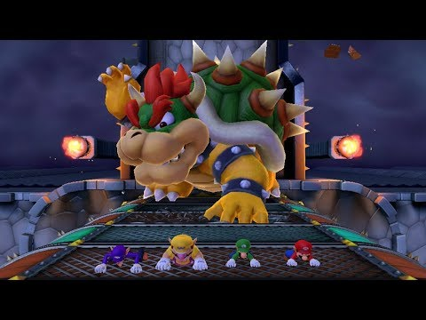 Mario Party 10 - All Action Minigames