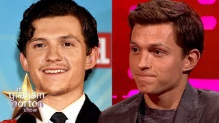 Tom Holland Shows Off How Much Facial Hair He Can Grow | The Graham Norton Show