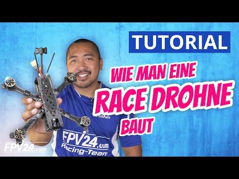 FPV RACE DROHNE selber bauen für Einsteiger / Fortgeschrittene   BAUANLEITUNG