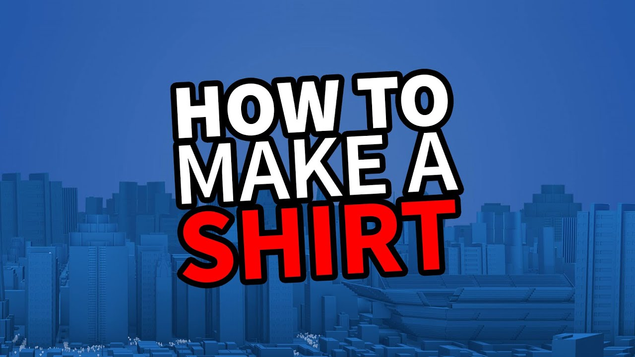 Create Your Own Roblox Shirt For 5 Robux By Rifl301 How To Make Ur Own Roblox Shirt
