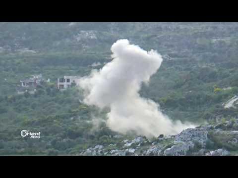 ميليشيا النظام تصعد من قصفها على بلدة بداما بريف جسر الشغور الغربي
