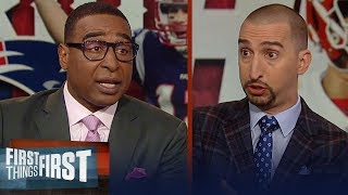 Nick Wright and Cris Carter preview Patriots vs. Chiefs AFC Championship | NFL | FIRST THINGS FIRST