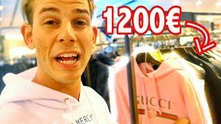 KAUFE ich den 1200€ GUCCI HOODIE?! ShoppingVLOG