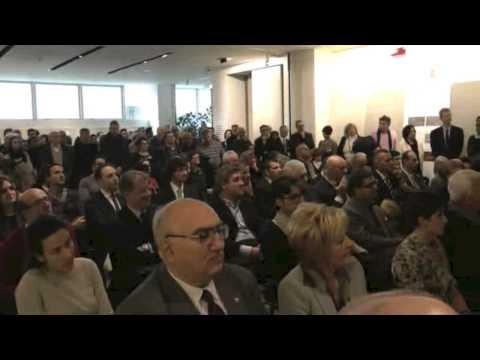 Panaria - Inaugurazione sede aziendale - Il commento di Emilio Mussini, Presidente Panariagroup
