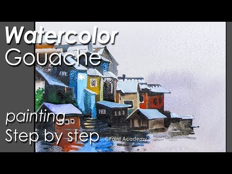 Watercolor Gouache Painting : Online Painting Course on Skillshare by Paint Academy