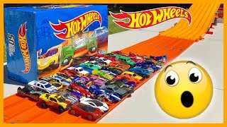 Hot Wheels 50 Pack Long Track Race Tournament