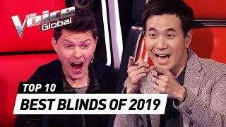 BEST BLIND AUDITIONS of 2019 | The Voice Senior Rewind