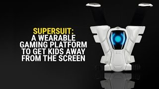 Want to get the kids away from screens? Check out SuperSuit, a wearable gaming platform