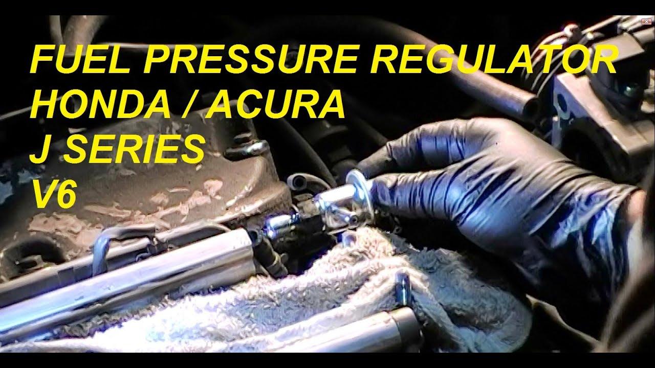 2001 Acura Tl 3 2 >> DIY: Acura Honda (FPR) Fuel Pressure Regulator J Series V6 - Bundys Garage - YouTube