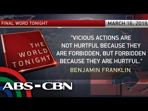 The Final Word - March 16, 2019 | ANC