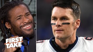 Tom Brady's age showed against youthful QB Lamar Jackson - DeAngelo Williams   First Take