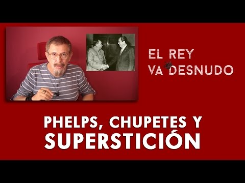 Phelps, chupetes y superstición