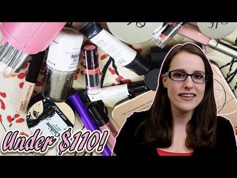Vegan Cruelty Free Makeup Kit Under $110