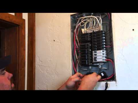 Eyedro Electricity Monitor Installation by Boyd Electrical Services