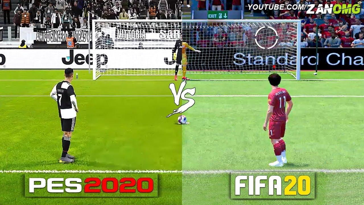 FIFA 20 vs PES 20: Graphics