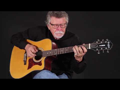 Leigh Reynolds With The Epiphone Masterbilt DR-400MCE