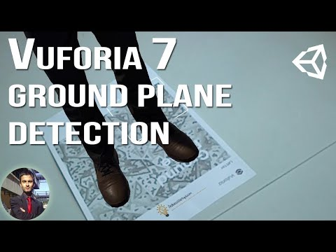Vuforia 7 Ground Plane Detection Tutorial