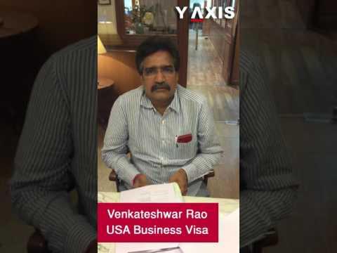 Venkateshwar Rao US Business Visa PC Mohammed Ayub