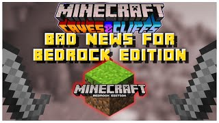 This Could Be BAD NEWS For Minecraft Bedrock Edition | Minecraft 1.17 Update News & Information