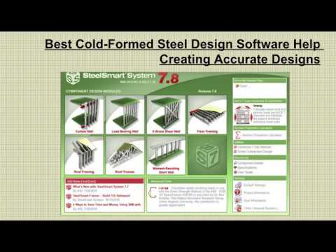 Best Cold-Formed Steel Design Software Help Creating Accurate Designs