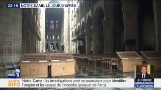 GRAND ANGLE - Notre-Dame de Paris: le bilan provisoire des dégâts