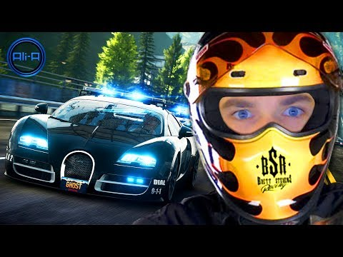 SNEAKY COP ESCAPE! - Need For Speed Rivals - LIVE W/ Ali-A! - Smashpipe Games