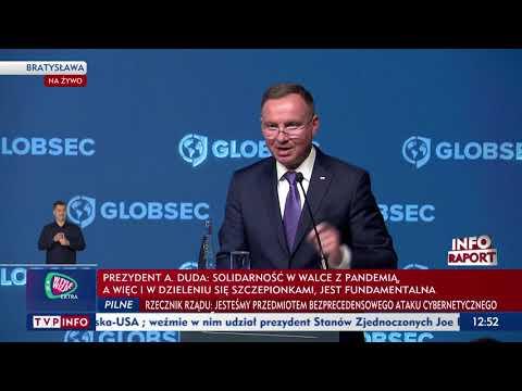 """""""Bezpieczeństwo to inwestycja"""". Prezydent Duda na konferencji GLOBSEC"""