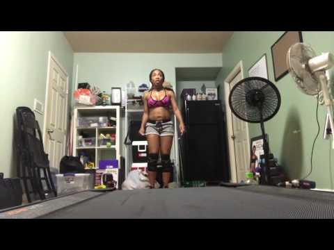DANCE MOVE WERK DVD (Working out to my own DVD)