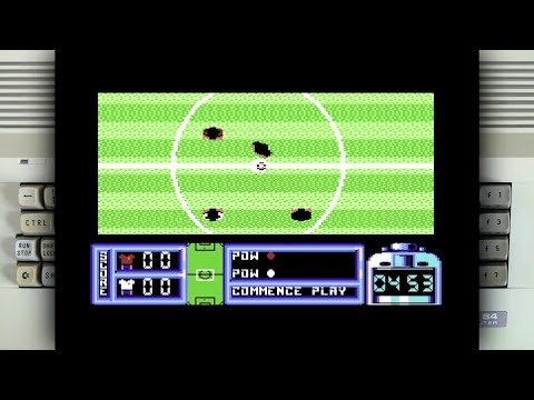 Gary Lineker's Hot Shot on the Commodore 64