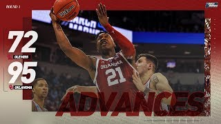 Oklahoma vs. Ole Miss: First round NCAA tournament extended highlights