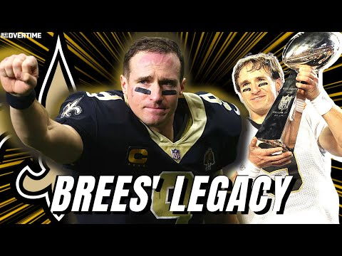 Celebrating Drew Brees' Legacy with the Saints
