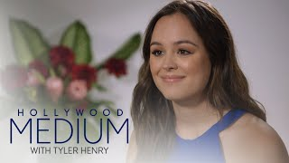 Tyler Henry's Reading Brings Hayley Orrantia to Tears | Hollywood Medium with Tyler Henry | E!