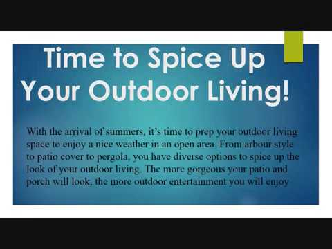 Time to Spice Up Your Outdoor Living!