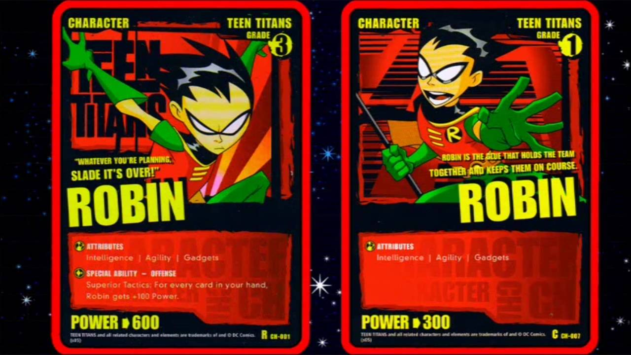 Teen Titans Trading Cards 21