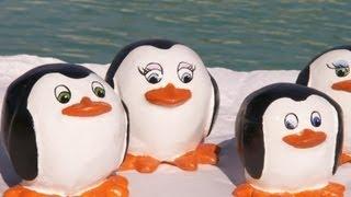 פינגווינים מעיסת נייר