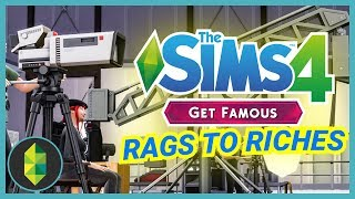 STRUGGLING ACTOR - Part 1 - Rags to Riches (Sims 4 Get Famous)