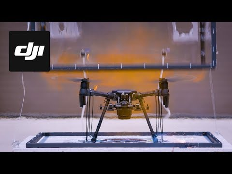 DJI – M200 Series Aces Fire Safety Flammability Test