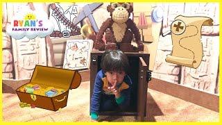 Legoland Treasure Chest Hunt surprise toys for kids! Hide N Seek Family Fun Children Activities Lego