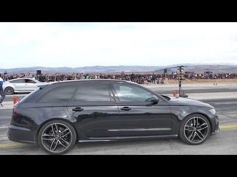 915HP Audi RS6 C7 down the strip | Autokinisimag