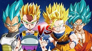 Thầy Trò Vegeta, Cabba Đối Đầu Cha Con Goku, Gohan - Dragon Ball Super Song Đấu