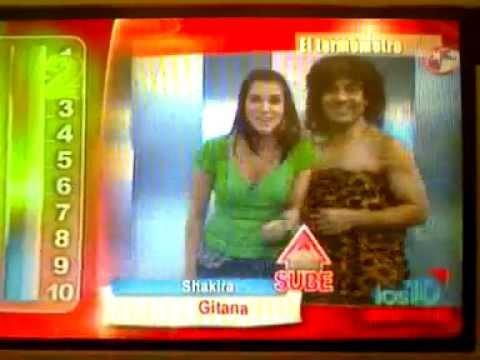 Shakira sube en los 10 primeros 01-05-2010