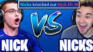 I KILLED NICK EH 30 IN A 1V1!! - (Nicks Vs. Nick Eh 30!)