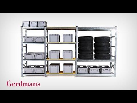 FLEX Hyllsystem - Guide Till Marknadens Mest Flexibla Hyllsystem | Gerdmans