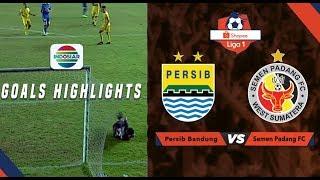 Persib Bandung (1) vs (1) Semen Padang FC - Goal Highlights | Shopee Liga 1