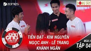 Đàn Ông Phải Thế Mùa 3 | Tập 4 Full HD: Việt Hương đồng loạt được trai đẹp tặng hoa (29/07/2017)