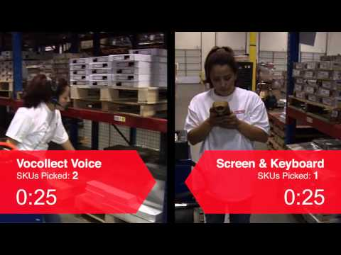 Pep Boys Voice vs Screen and Keyboard Comparison - Vocollect voice