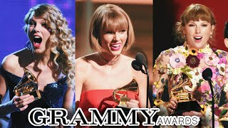 Taylor Swift Complete Grammys History (2008-2021)